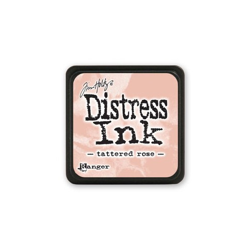 Mini Distress Ink - Poduszka z tuszem - Ranger - Tattered Rose