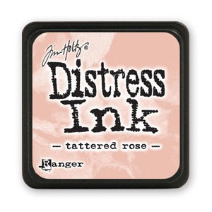 Mini Distress Ink - Poduszka z tuszem - Ranger - Tattered Rose