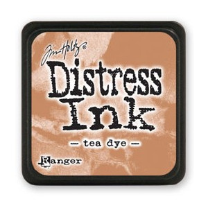 Mini Distress Ink - Poduszka z tuszem - Ranger - Tea Dye