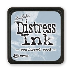 Mini Distress Ink - Poduszka z tuszem - Ranger - Weathered Wood