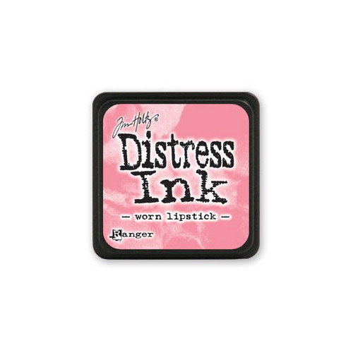 Mini Distress Ink - Poduszka z tuszem - Ranger - Worn Lipstick
