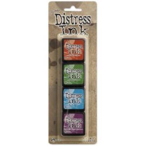 Mini Distress Ink Pad Kit 2 - Zestaw poduszek z tuszem