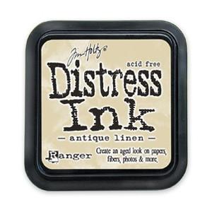Distress Ink Pad - Poduszka z tuszem - Ranger - Antique Linen