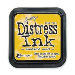 Distress Ink Pad - Poduszka z tuszem - Ranger - Mustard Seed