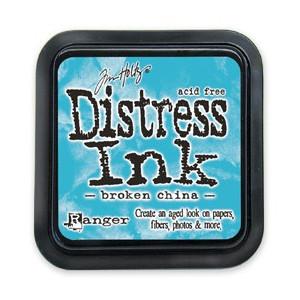Distress Ink Pad - Poduszka z tuszem - Ranger - Broken China