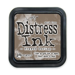 Distress Ink Pad - Poduszka z tuszem - Ranger - Frayed Burlap