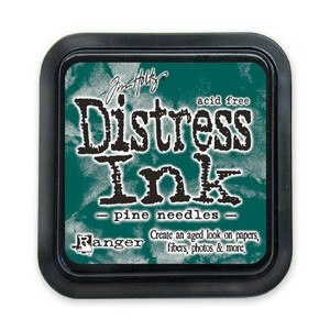 Distress Ink Pad - Poduszka z tuszem - Ranger - Pine Needles