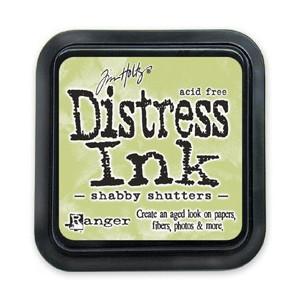 Distress Ink Pad - Poduszka z tuszem - Ranger - Shabby Shutters