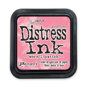 Distress Ink Pad - Poduszka z tuszem - Ranger - Worn Lipstick