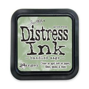 Distress Ink Pad - Poduszka z tuszem - Ranger - Bundled Sage