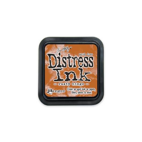 Distress Ink Pad - Poduszka z tuszem - Ranger - Rusty Hinge