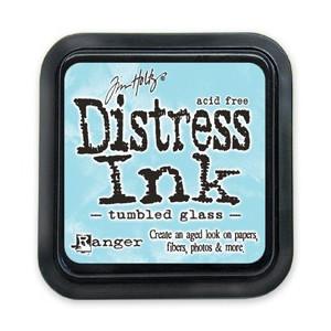 Distress Ink Pad - Poduszka z tuszem - Ranger - Tumbled Glass