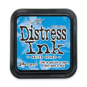 Distress Ink Pad - Poduszka z tuszem - Ranger - Salty Ocean