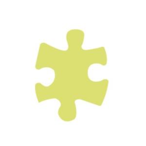 Dziurkacz ozdobny 5 cm 328 - Puzzle