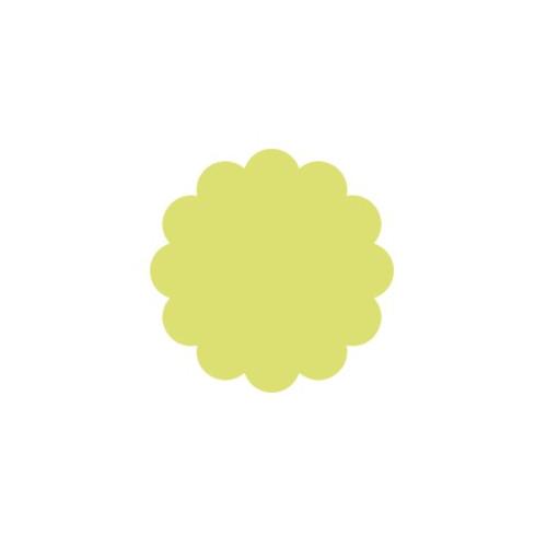 Dziurkacz ozdobny Koło z falbanką 296 - DpCraft - 5 cm