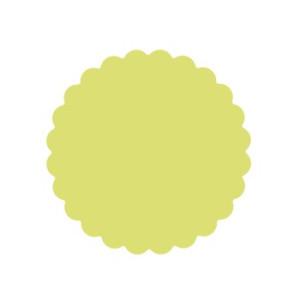 Dziurkacz 6,3 cm 109 - Kółko z falbanką