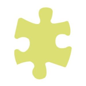 Dziurkacz ozdobny 7,5 cm 028 - Puzzle