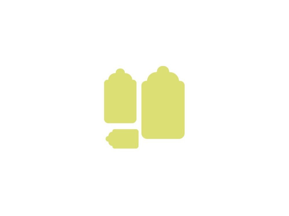 Dziurkacz ozdobny Metki - DpCraft - 7,5 cm