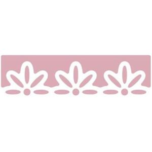 Dziurkacz brzegowy 4 cm 120 - Kwiaty 3