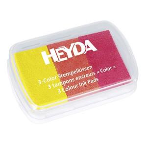 Tusz pigmentowy 3-kolorowy HEYDA 62