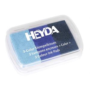 Tusz pigmentowy 3-kolorowy HEYDA 64