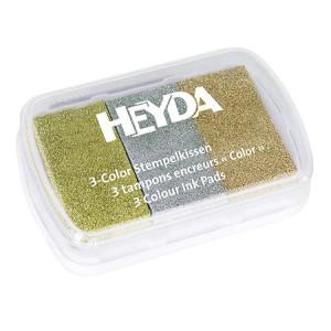 Tusz pigmentowy 3-kolorowy HEYDA 66