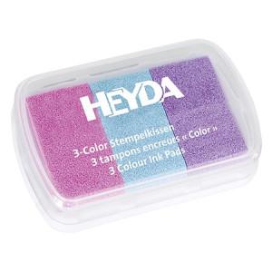 Tusz pigmentowy 3-kolorowy HEYDA 68
