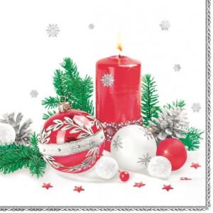 Serwetki ozdobne świąteczne 20 szt. SLGW010101