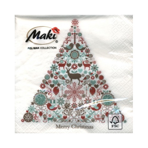 Christmas Napkins.Christmas Napkins 20 Pcs Slgw013201