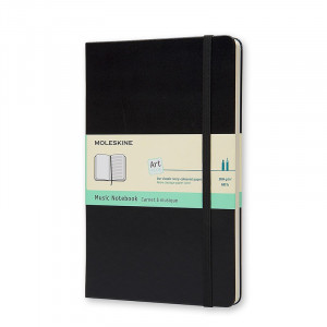 Zeszyt do nut Moleskine
