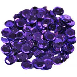 Cekiny łamane, ozdobne 6 mm - perłowe, 17 g