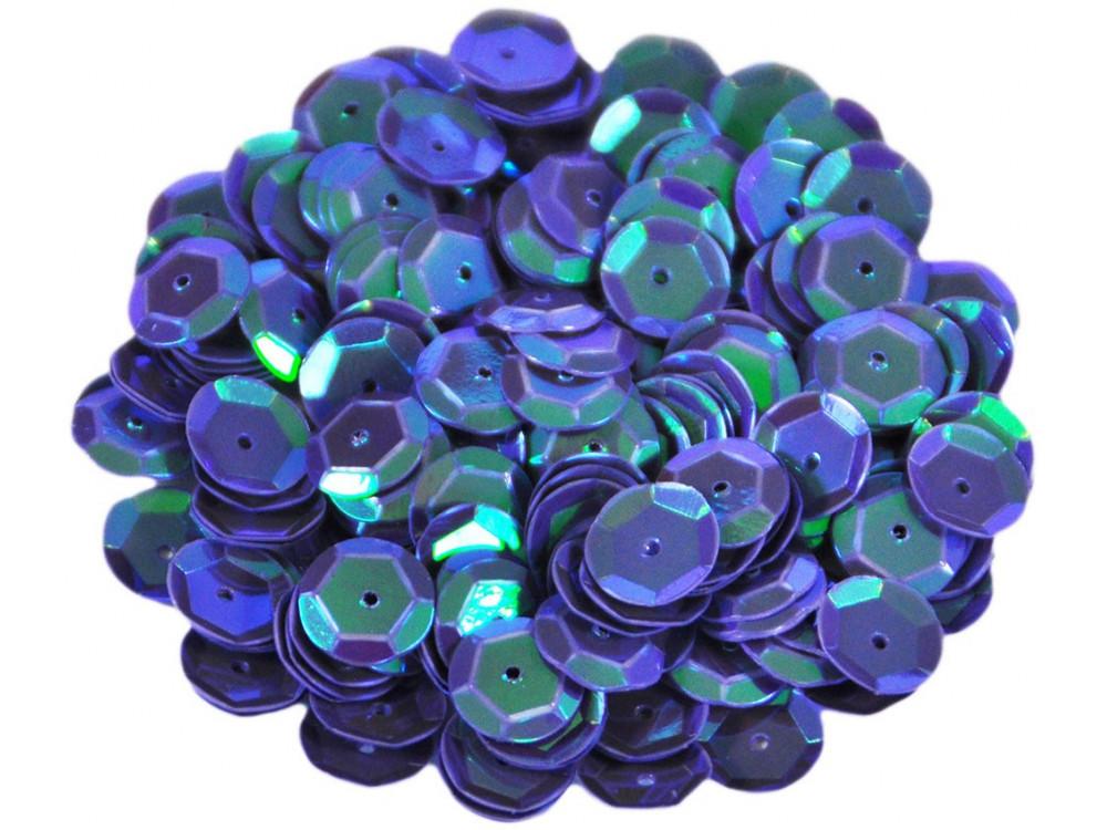 Cekiny łamane, ozdobne 6 mm - holograficzne, 17 g