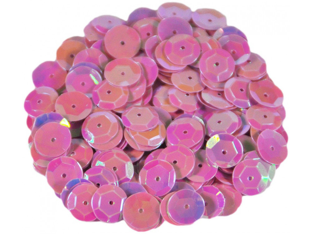 Decorative Sequins 6 mm 17 g holographic F21