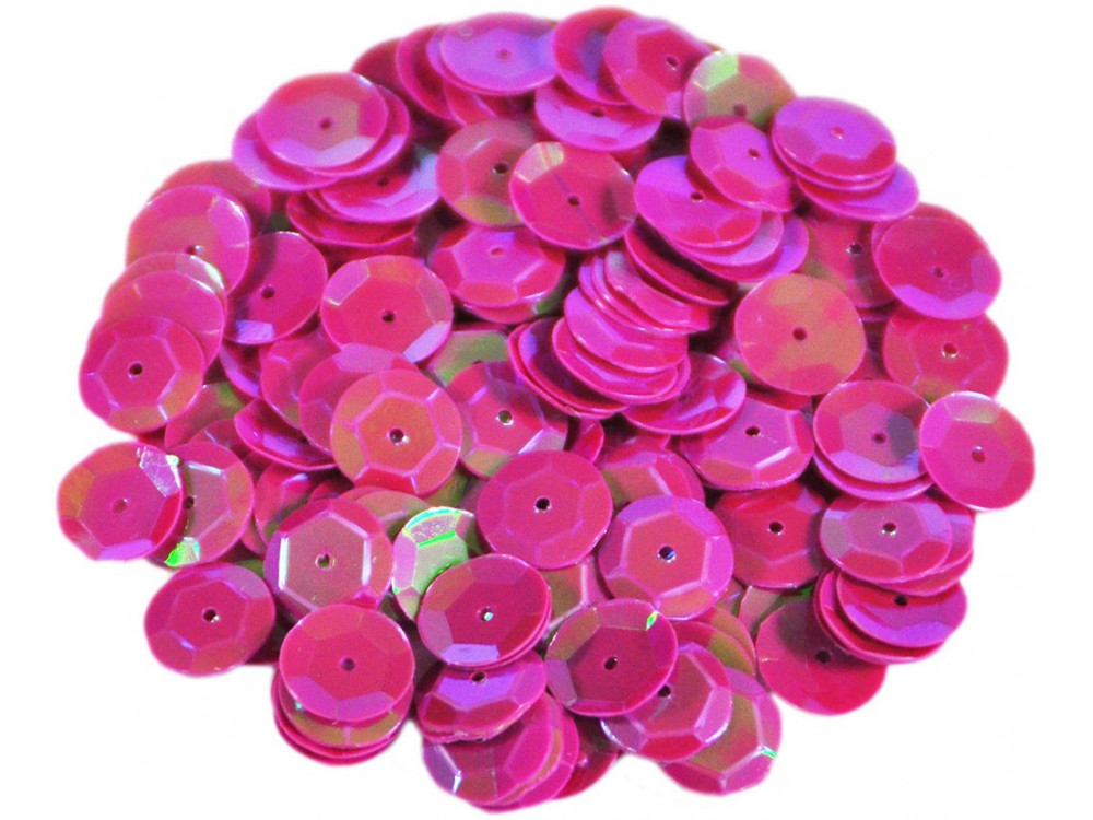 Decorative Sequins 6 mm 17 g holographic F24