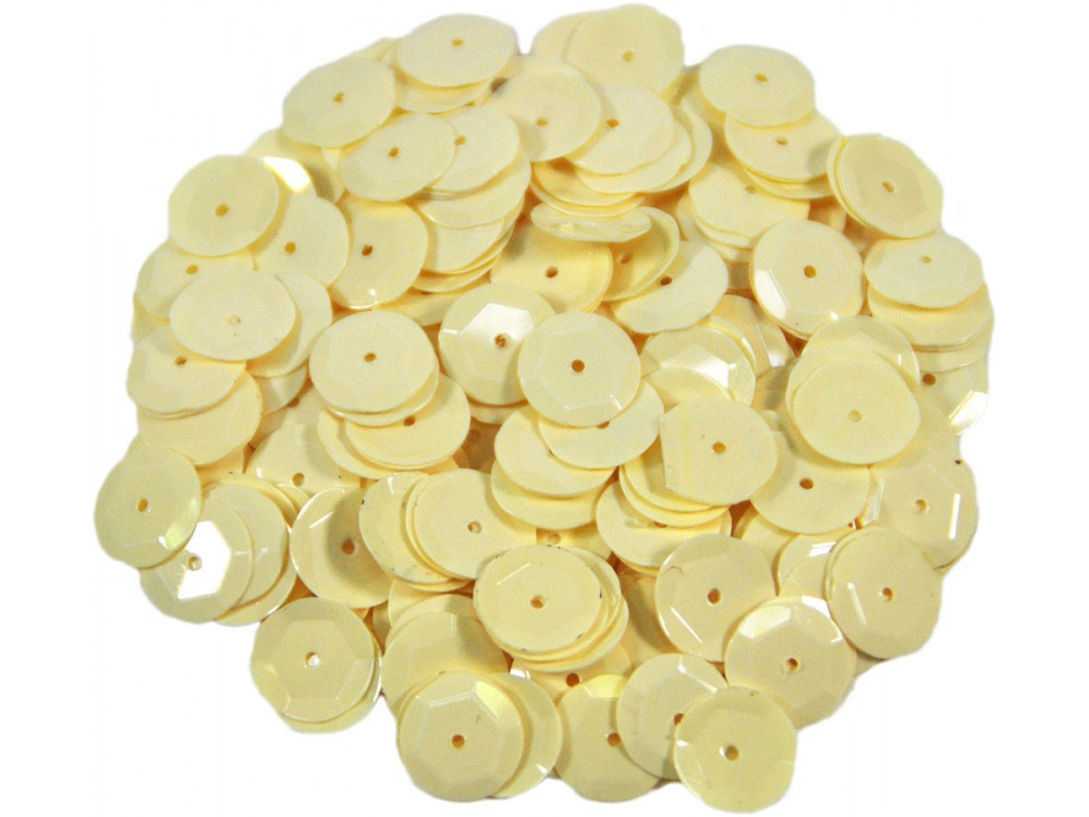 Decorative Sequins 8 mm 17 g matt B6