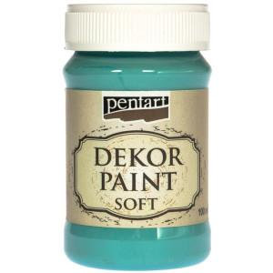 Farba kredowa Pentart 100 ml niebieski turkus