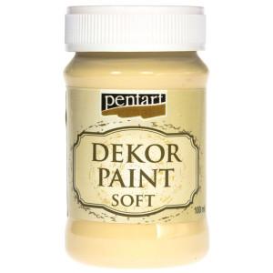 Farba kredowa Pentart 100 ml żółty