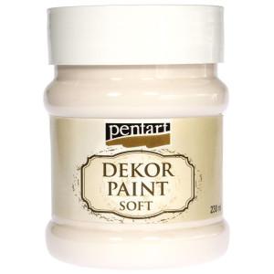 Farba kredowa Pentart 230 ml biały krem