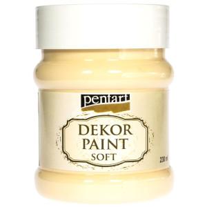 Farba kredowa Pentart 230 ml żółty