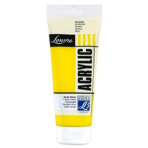 Farba akrylowa LOUVRE 80 ml Lemon Yellow
