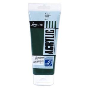 Farba akrylowa LOUVRE 80 ml Cobalt Green