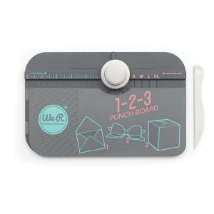 Narzędzie do wykonywania kopert, pudełek i kokard, 123 Punch Board