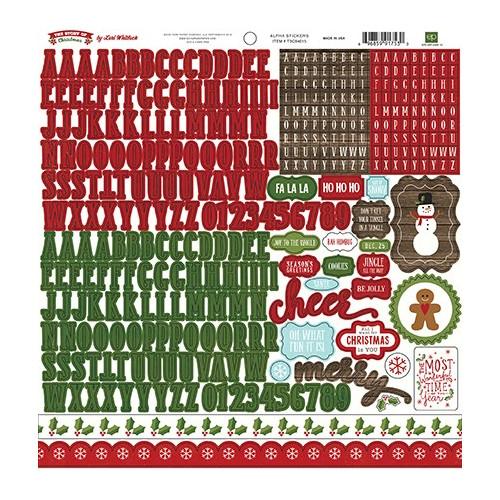 Naklejki Echo Park - The Story of Christmas Alpha Sticker