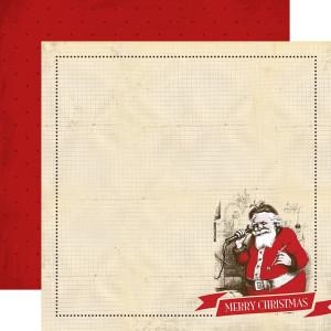 Papier Carta Bella - Have a Marry Christmas - Santa Claus