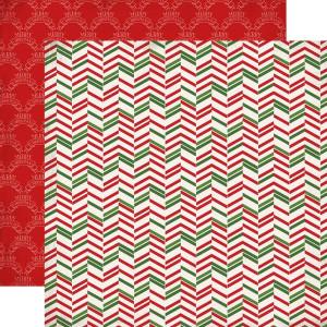 Papier Carta Bella - Have a Marry Christmas - Christmas Herringbone