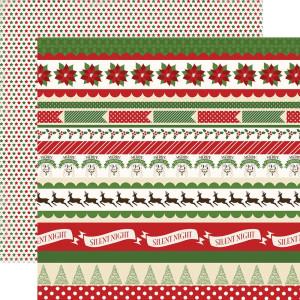 Papier Carta Bella - Have a Marry Christmas - Christmas Borders