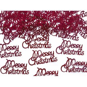 Konfetti Merry Christmas 4,2 x 2,2 cm 3 g