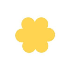 Dziurkacz ozdobny 3,7 cm 024 Kwiatek