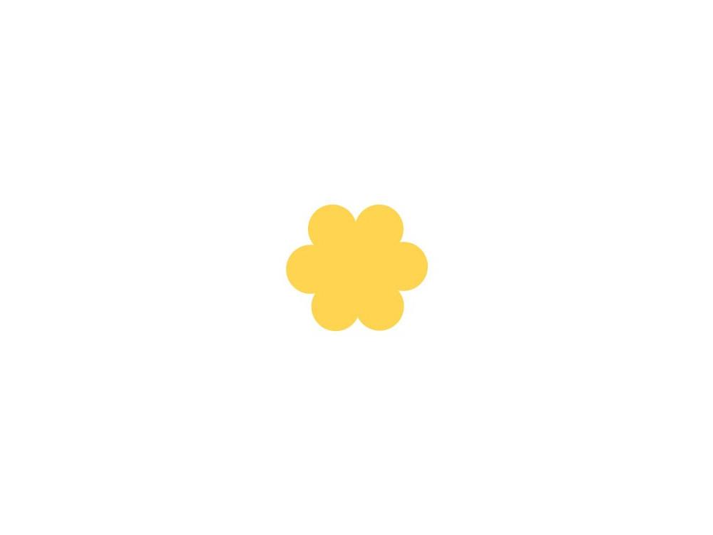 Dziurkacz ozdobny Kwiatek 024 - DpCraft - 3,7 cm
