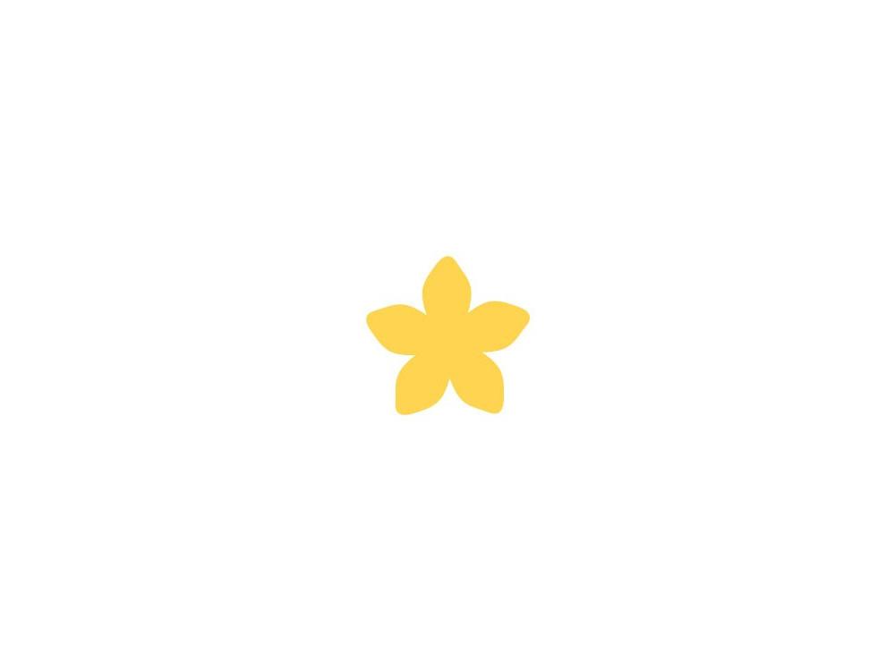 Dziurkacz ozdobny Kwiatek - DpCraft - 3,7 cm